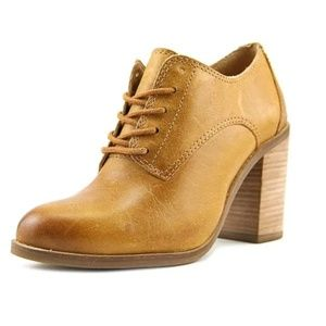 Lucky Brand Oxford Block Heel Boots 8½